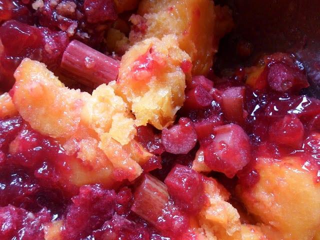 rhubarb cranberry