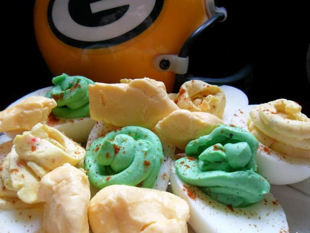 Game Day Deviled Eggs or Stuffed Eggs