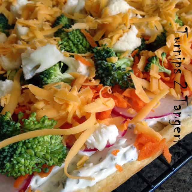 Awesome Vegetable Pizza
