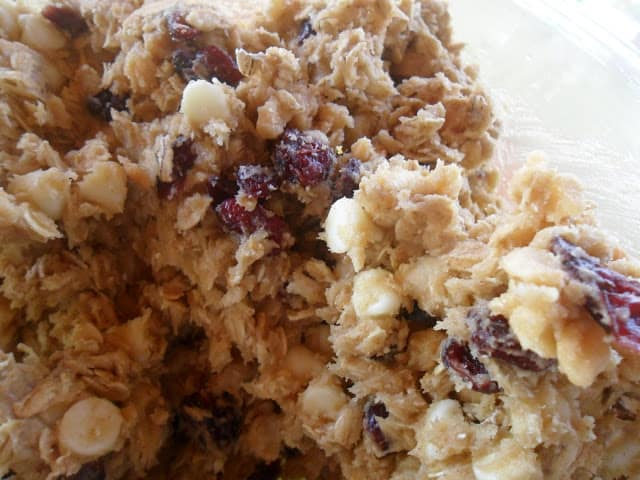 oatmeal cherry berry