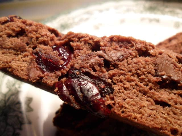 Chocolate Chip Cranberry Biscotti