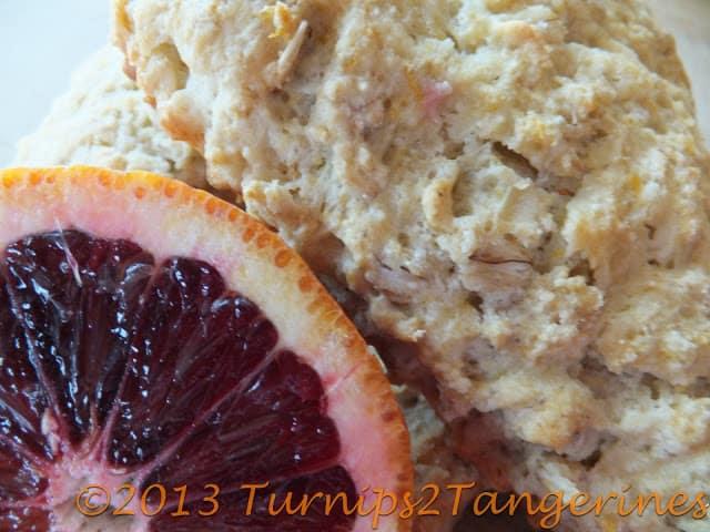 blood orange scones