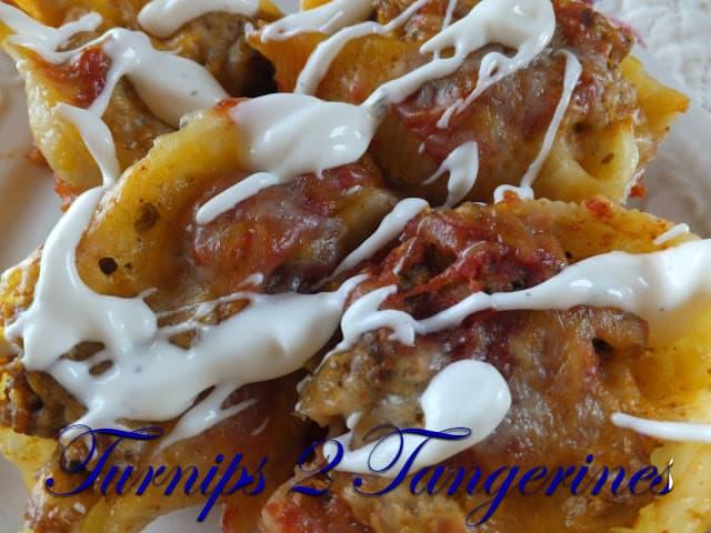 tacos in pasta
