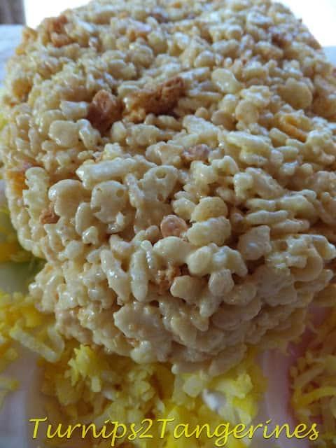lemon meringue krispie