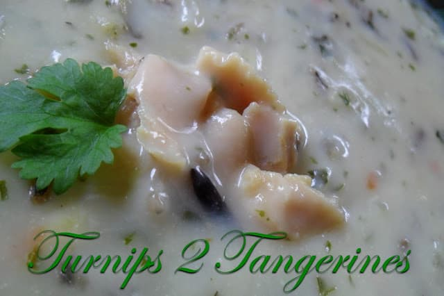 Clam and Wild Rice Soup