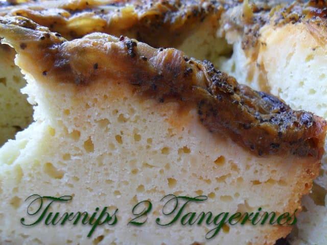 Amish Onion Cake Turnips 2 Tangerines