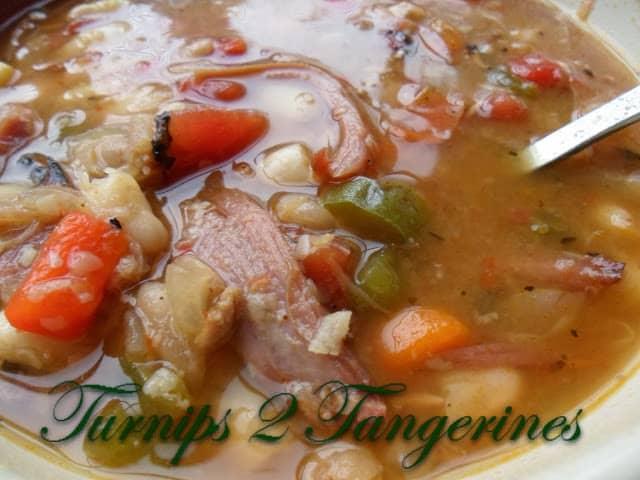 White Bean Ham Soup