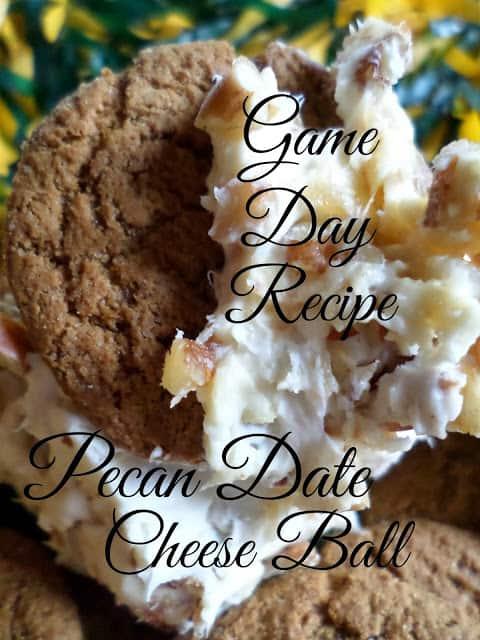 Pecan Date Cheese Dip
