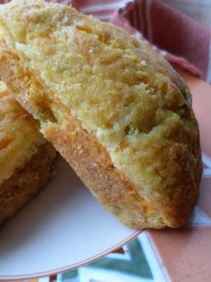 Green Chili Cheddar Corn Muffins
