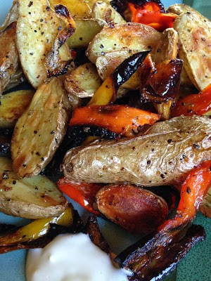 roasted fingerling
