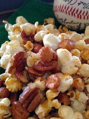 popcorn peanut