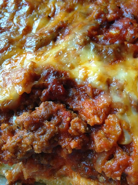 Stuffed Rigatoni Lasagna