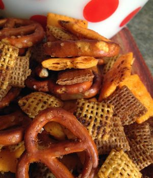 barbecue style snack mix