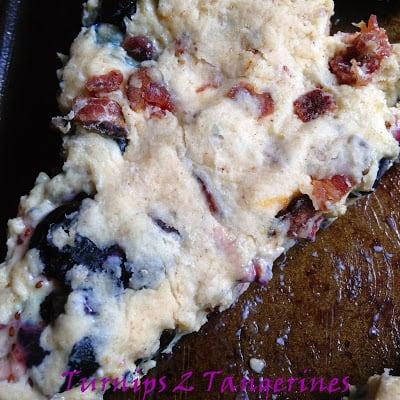 bacon blueberry