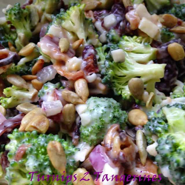 broccoli bacon