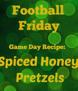 spiced honey pretzels