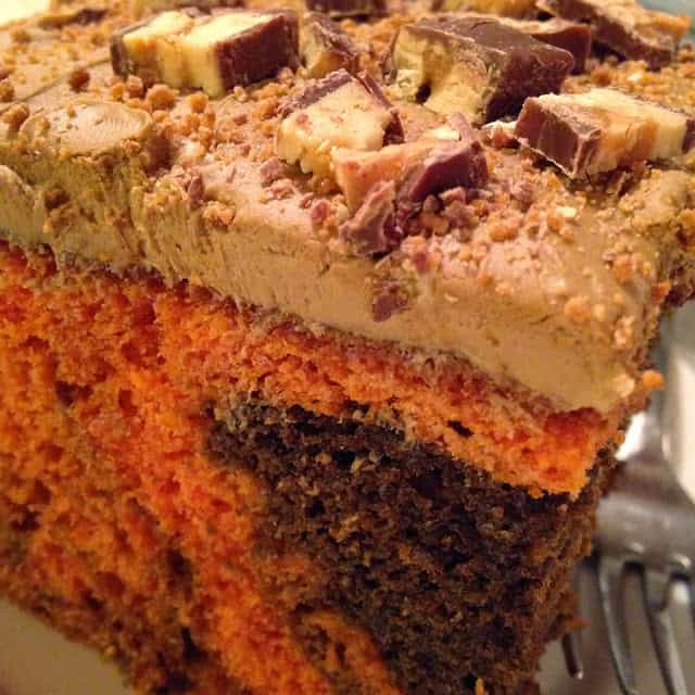 Autumn Swirl Cake with Maple Bacon Frosting