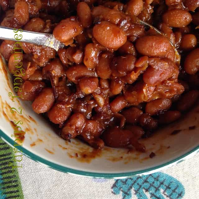Apple Cider Baked Beans and Legumes 101