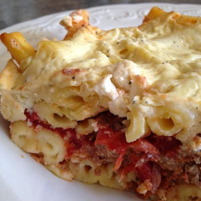 greek pastitsio