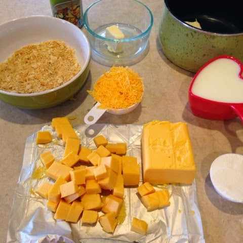 Velveeta Down Home Mac N Cheese Turnips 2 Tangerines