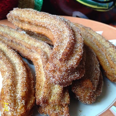 Churros and Mexican Hot Chocolate