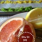 How to Dry Citrus Zest