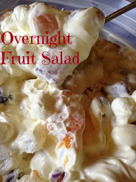 overnight fruit