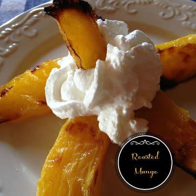 roasted mango
