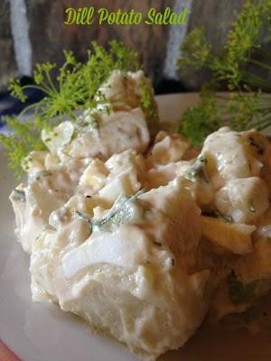 dill potato