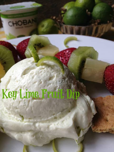 key lime fruit dip