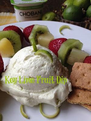 key lime fruit dip
