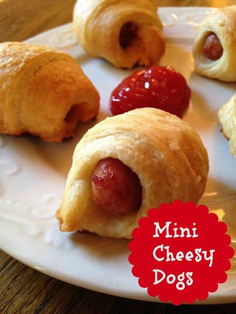mini cheesy