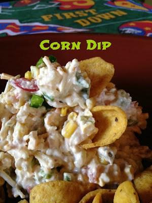 gold corn dip