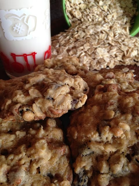 oatmeal raisin cinnamon