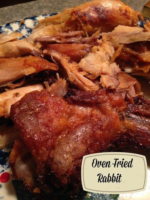 Oven Fried Rabbit