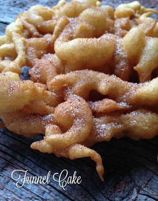 funnel cakes a classic