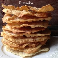 Celebrate with Buñuelos or Mexican Fritters