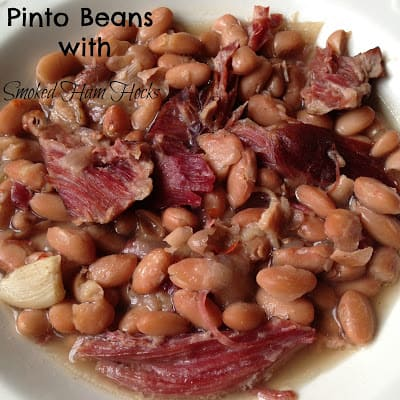Pinto Beans with Smoked Ham Hocks