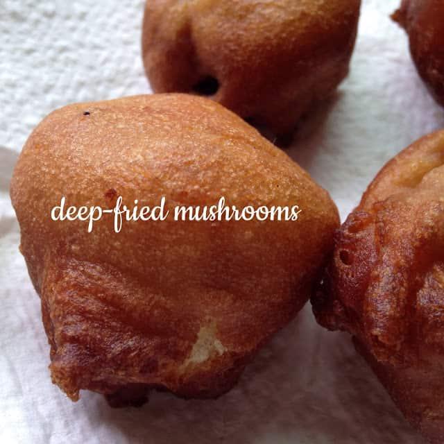 Deep-fried Mushroom
