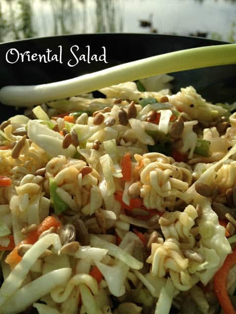 Oriental Coleslaw Salad