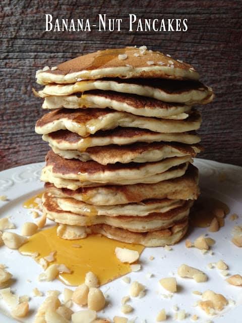 Banana Nut Pancakes | Turnips 2 Tangerines