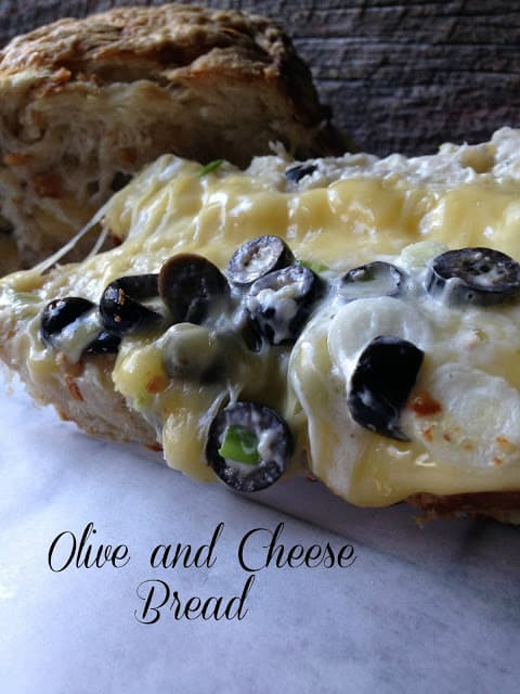 Olive and Cheese Bread
