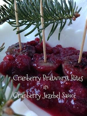 cranberry bratwurst