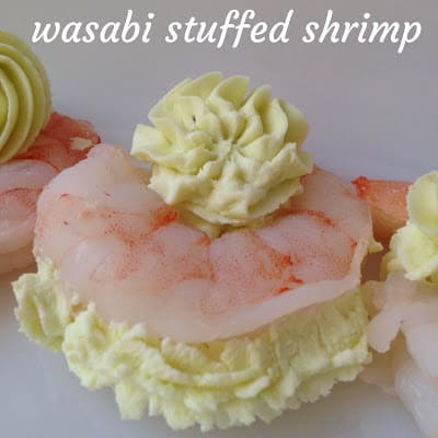 Wasabi Stuffed Shrimp