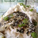 Baked Haddock with Creamed Leeks