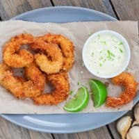 How to Make Easy Coconut Shrimp with Garlic Aioli Sauce