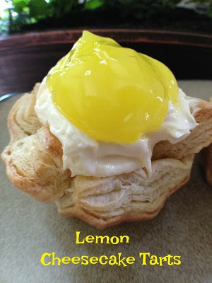 Easy Lemon Cheesecake Tarts