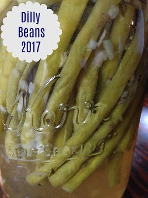 Dilly Beans Small Batch