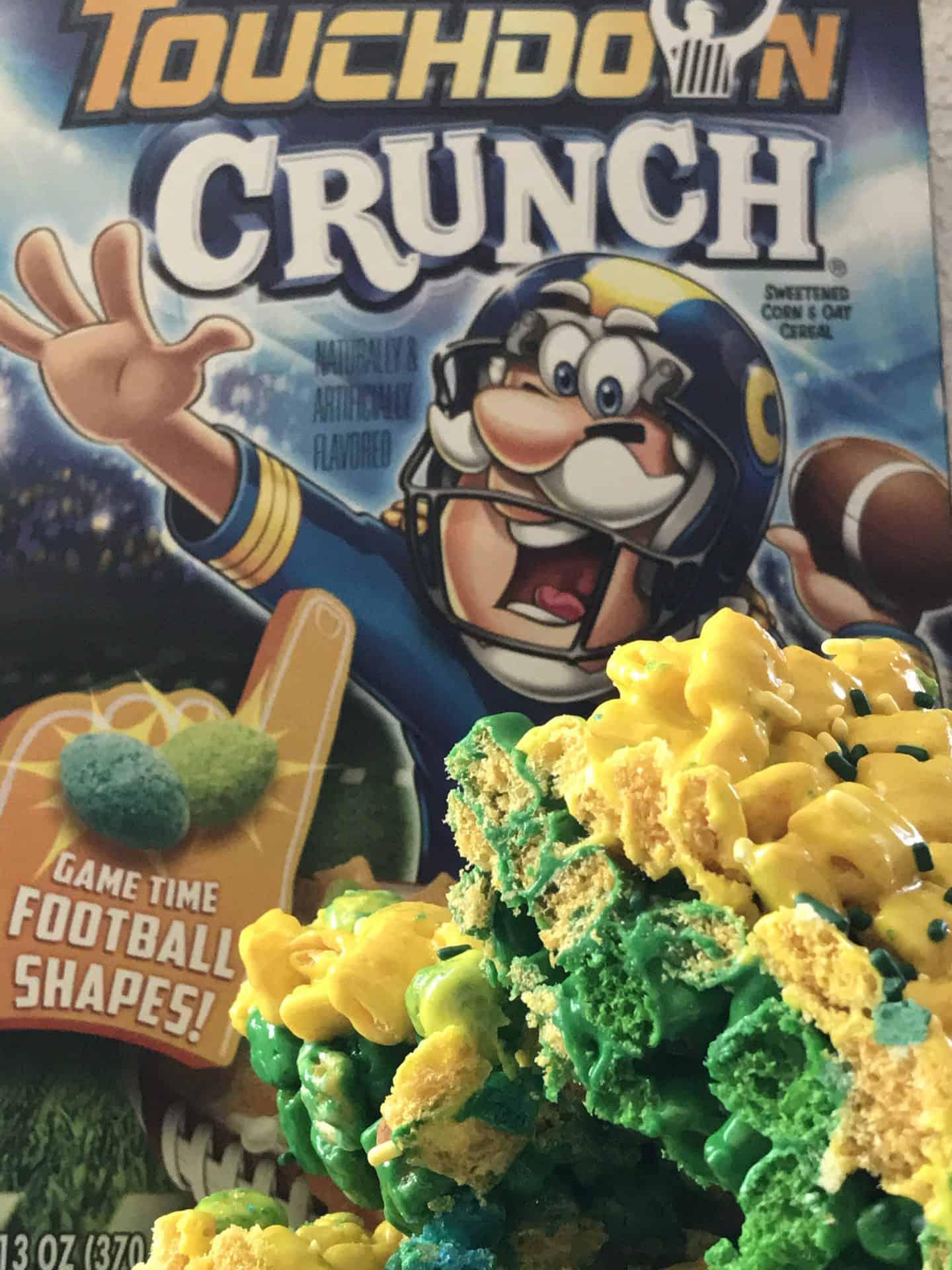 Captain Crunch Touchdown Marshmallow Treats