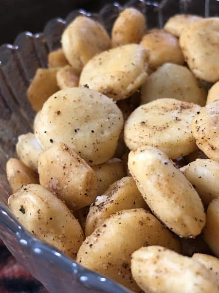 Taco Flavored Oyster Crackers